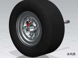 方程式赛车车轮总成
