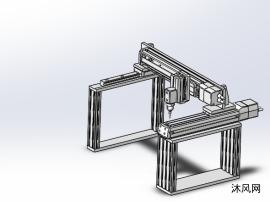 三軸機械手龍門雕刻機構