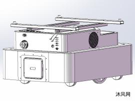 举升式AGV设计模型