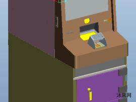 自动柜员机ATM图纸