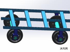 轮毂小车模子