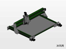 数控机床设计模型图