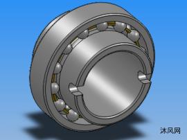 7种规格具加长内圈自动调心球轴承TN9