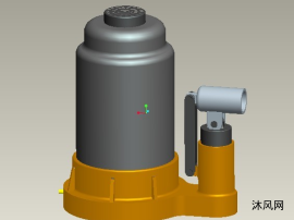 液压千斤顶三维设计