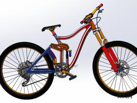 原格式自行车