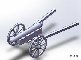 后装火炮模子