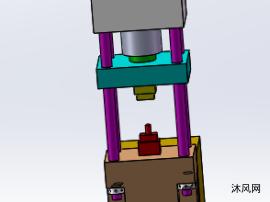 小型液压机模子
