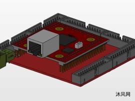 集成電路板模型