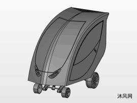 单座紧凑型E型车辆