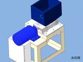 碎纸机设计模型图