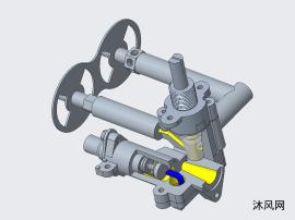 燃气灶电磁阀结构
