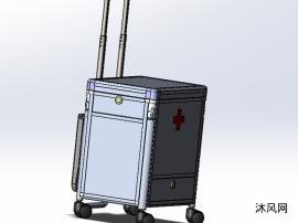 多功效医用箱模子