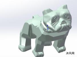 小狗三維模型設計