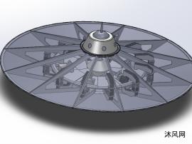 UFO应用的飞碟设计模子