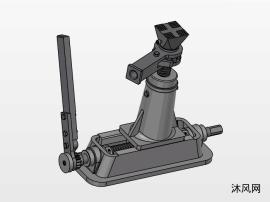 机械千斤顶模子图