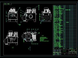 液壓波紋機液壓系統設計