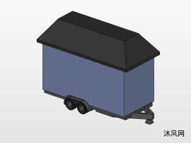 一种房车设计模子