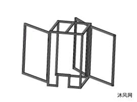 三開門防護罩