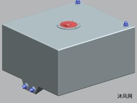 鋁材質的燃料油箱設計模型