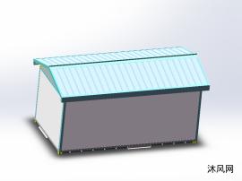 玻璃钢复合板机站