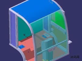 環衛車駕駛室