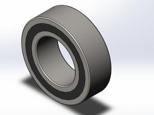 兩面帶密封圈的雙列角接觸球軸承 0000 A-2RS型