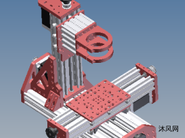 3軸雕刻機模型