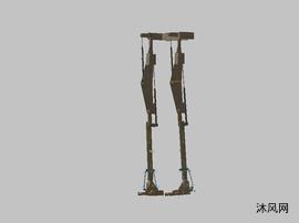 老年人全自動可穿戴下肢康復訓練機器人