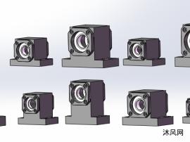 9種外圈固定T型帶座軸承