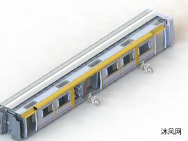 列車自行車裝載機構