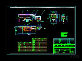 汽车轮毂电泳烘干炉设计图
