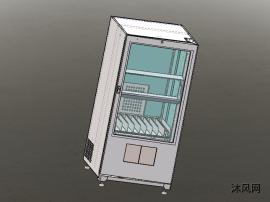 升降電動門自動售貨機