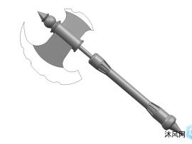 盤古斧三維模型