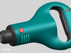 電動螺絲刀3D模型