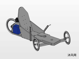 一種電動三輪車