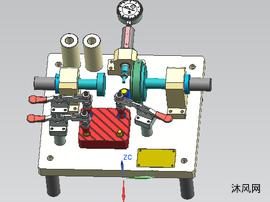 渦輪殼位置度檢具