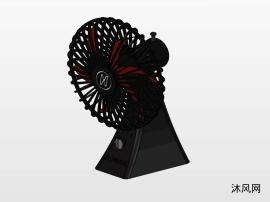 一種風扇模型圖