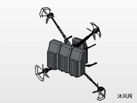 一種四翼無人機