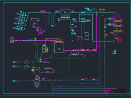 脫硫脫硝工藝系統圖