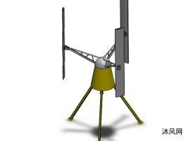 三腳架支撐小風機