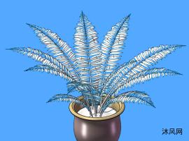 綠植模型設計圖