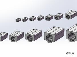 12種型號SMA-L裝配直線軸承