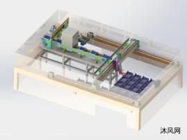 太陽能電池片分選流水線