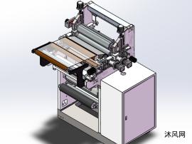 鋰電漿料涂布設備(逗號輥刮刀涂布)(工作面700)