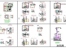 潛水泵安裝圖紙