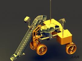 月球登陸機器人