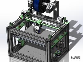 3D打印機鋁型材結構