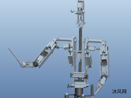科技館指揮家機器人