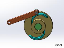 間歇機構的凸輪機構