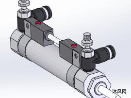 筆形氣缸CDJ2B16-50-C73